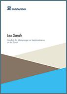 Lex Sarah – handbok för tillämpningen av bestämmelserna om lex Sarah