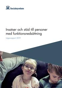 Omslag till Insatser och stöd till personer med funktionsnedsättning