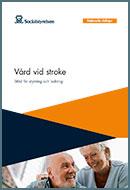 Omslag nationella riktlinjer stroke