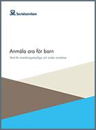 Omslagsbild till Socialstyrelsens Anmäla oro för barn – Stöd för anmälningsskyldiga och andra anmälare.