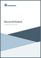 Omslag till Socialstyrelsens handbok om ekonomiskt bistånd för socialtjänsten